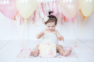 One Year Cake Smash Photography Minneapolis Minnesota